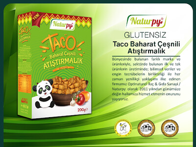 Naturpy Glutensiz Baharat Çeşnili Cips