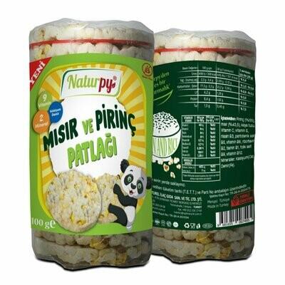 Naturpy Glutensiz Mısır ve Pirinç Patlağı