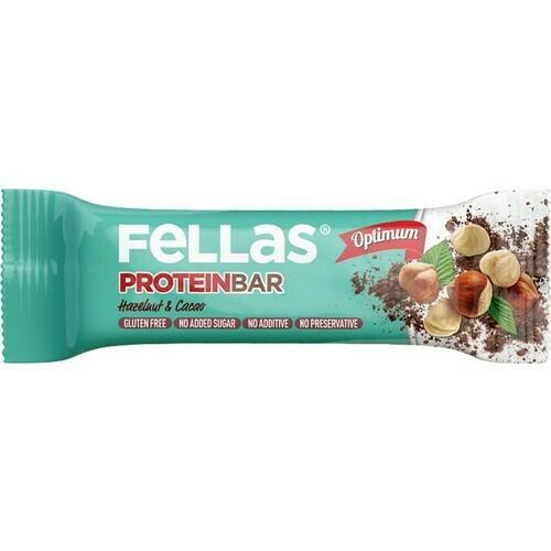 Fellas Fındık Ve Kakaolu Protein Bar
