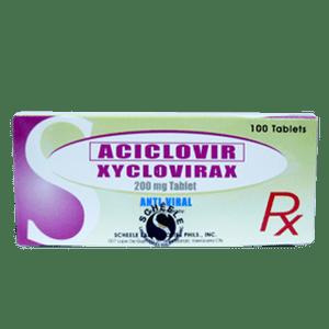 Aciclovir 200mg Tablet x 1's
