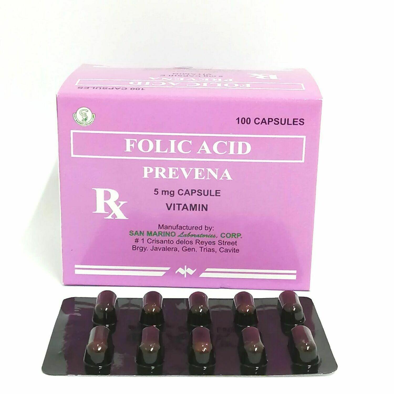 Folic Acid 5mg Capsule x 1's