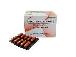 Sodium Ascorbate Vitamin C+Zinc Capsule x 1's