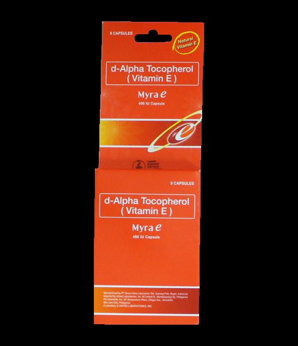 Myra E (Vitamin E) 400 IU Softgel  x 1's