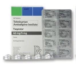 Twynsta (Telmisartan + Amlodipine) 40mg./5mg. Tablet x 1's
