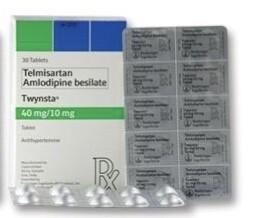 Twynsta (Telmisartan + Amlodipine) 40mg./10mg. Tablet x 1's