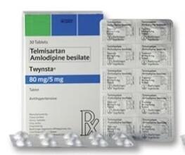 Twynsta (Telmisartan + Amlodipine) 80mg./5mg. Tablet x 1's