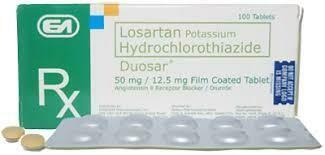 Duosar (Losartan + Hydrochlorothiazide) 50mg/12.5mg Tablet x 1's