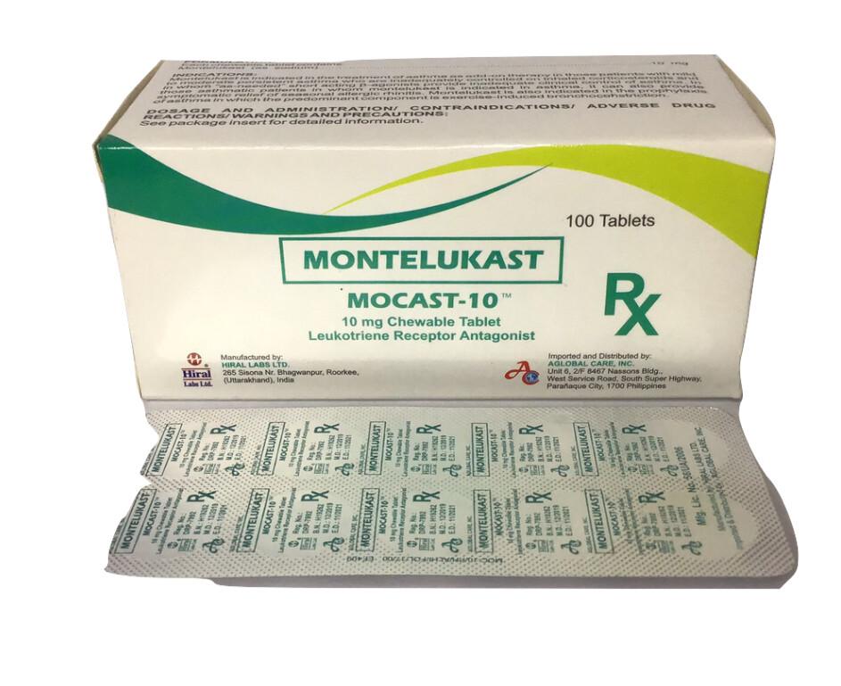 Montelukast 10mg Tablet x 1's