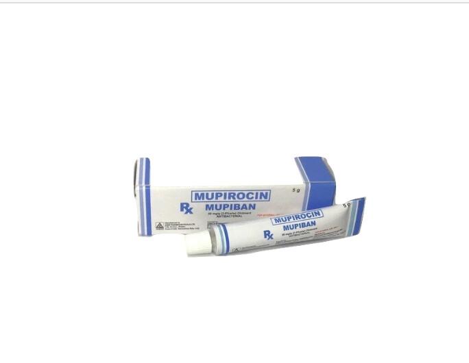 Mupirocin 20mg/20% Ointment 5g. x 1's