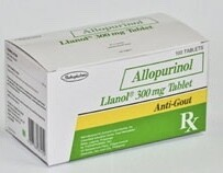 Llanol (Allopurinol) 300mg Tablet x 1's