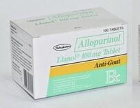 Llanol (Allopurinol) 100mg Tablet x 1's