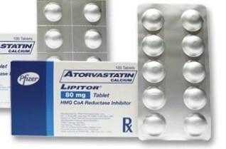 Lipitor (Atorvastatin) 80mg.Tablet x1s