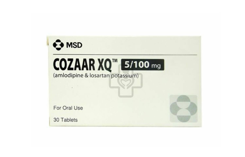 Cozaar XQ (Losartan + Amlodipine) 50mg/5mg Tablet x 1's