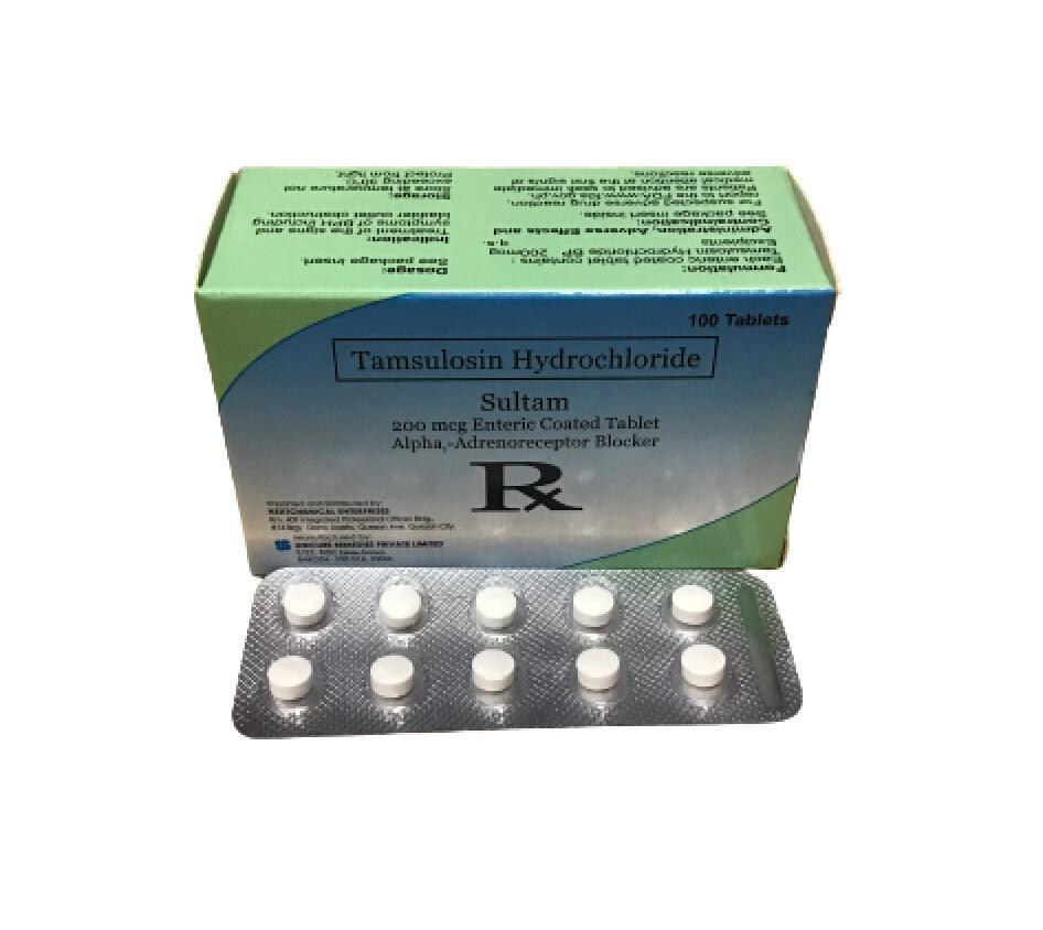 Tamsulosin 200mcg Tablet x 1's