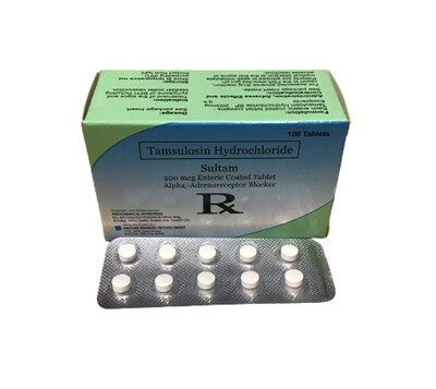 Tamsulosin 200mcg Tablet x 30's Monthly Dose Compliance Pack
