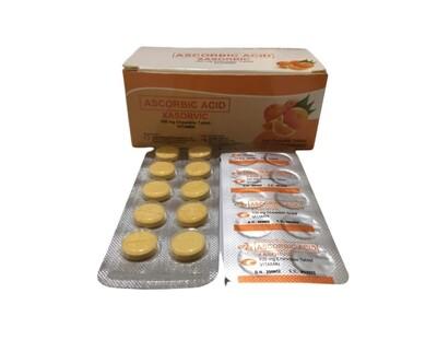 Ascorbic Acid 100mg (Vitamin C) Chewable Tablet x1's (For Kids)