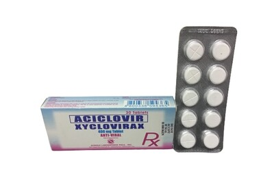Aciclovir 400mg Tablet x 1's