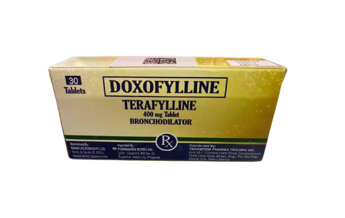Doxofylline 400mg Tablet x 1's
