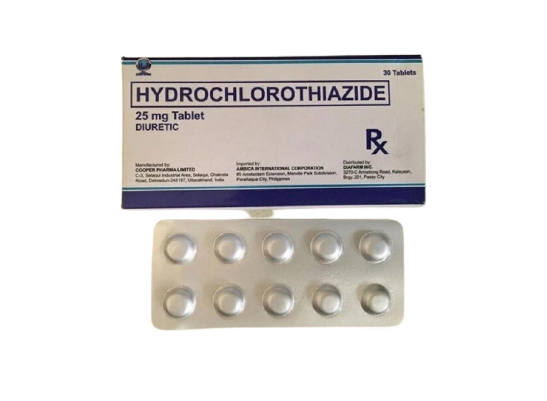 Hydrochlorothiazide 25mg Tablet x 1's