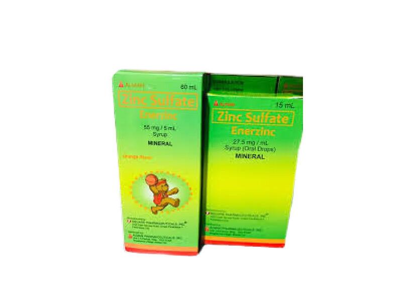 Zinc Sulfate 55mg/5ml Syrup 60ml x 1's