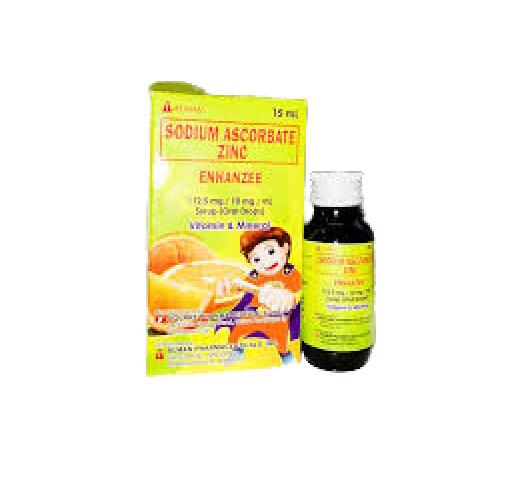 Sodium Ascorbate+Zinc 112.5mg/10mg/ml Oral Drops 15ml x 1's