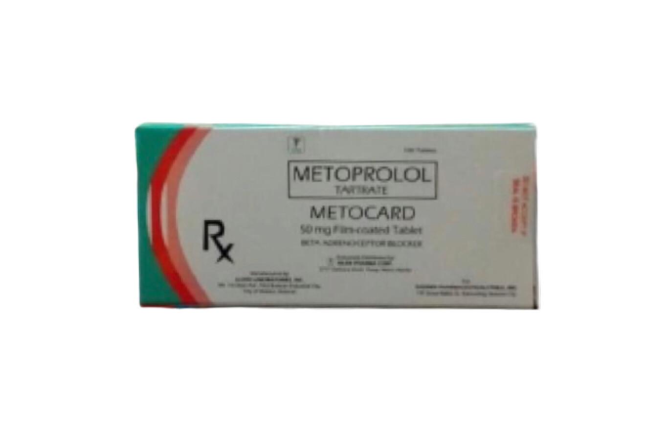 Metoprolol 50mg Tablet x 1's