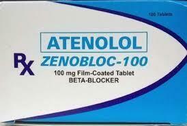 Atenolol 100mg Tablet x 1's