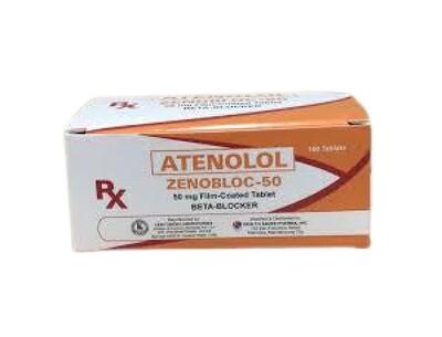 Atenolol 50mg Tablet x 1's