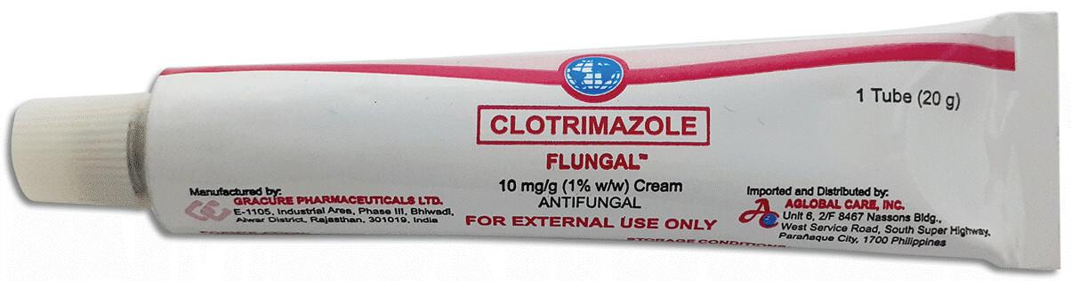 Clotrimazole 1% Cream 10g x 1's