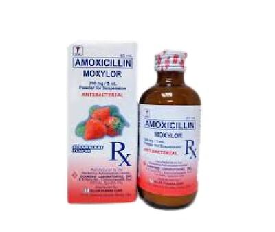 Amoxicillin 250mg/5ml Suspension 60ml  x1's