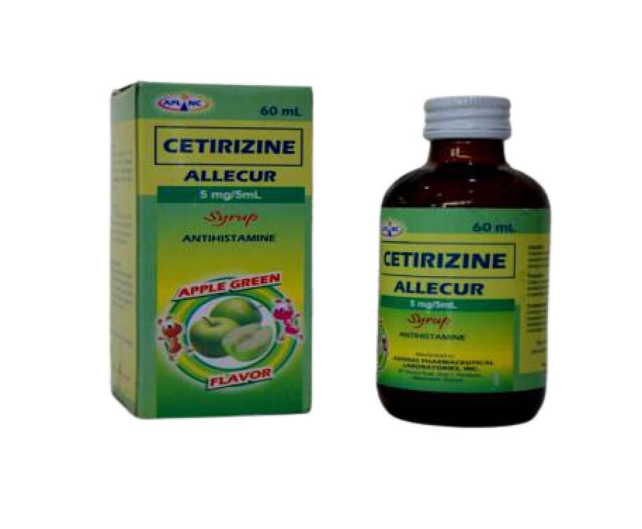 Cetirizine 5mg/5ml Syrup 60ml x 1's