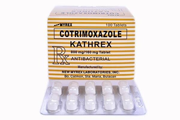 Cotrimoxazole 800mg/160mg Tablet x 1's