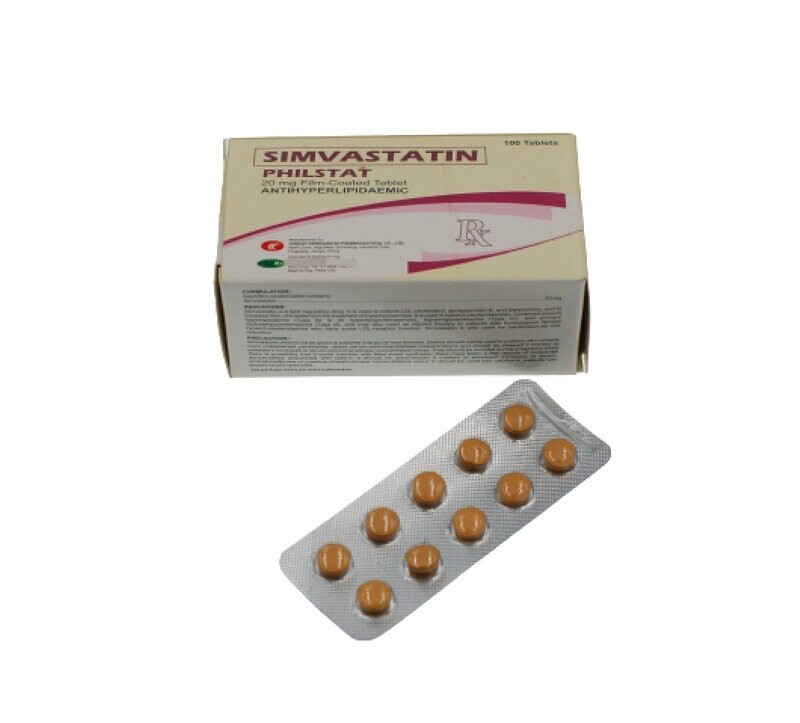 Simvastatin 10mg Tablet x 1's
