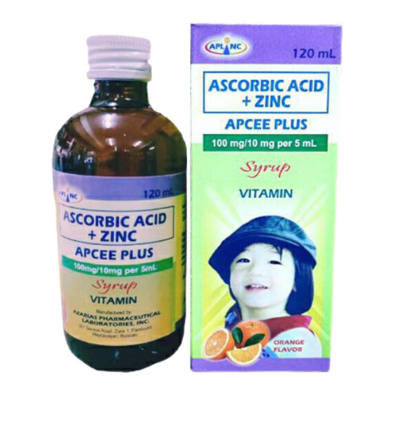 Ascorbic Acid (Vitamin C) 100mg/5ml Syrup 120ml bottle x1's