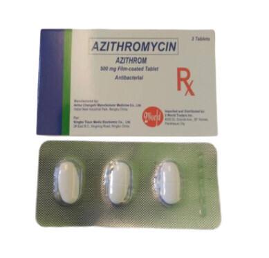 Azithromycin 500mg Tablet x 1's