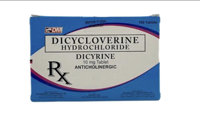 Dicycloverine 10mg Tablet x 1's