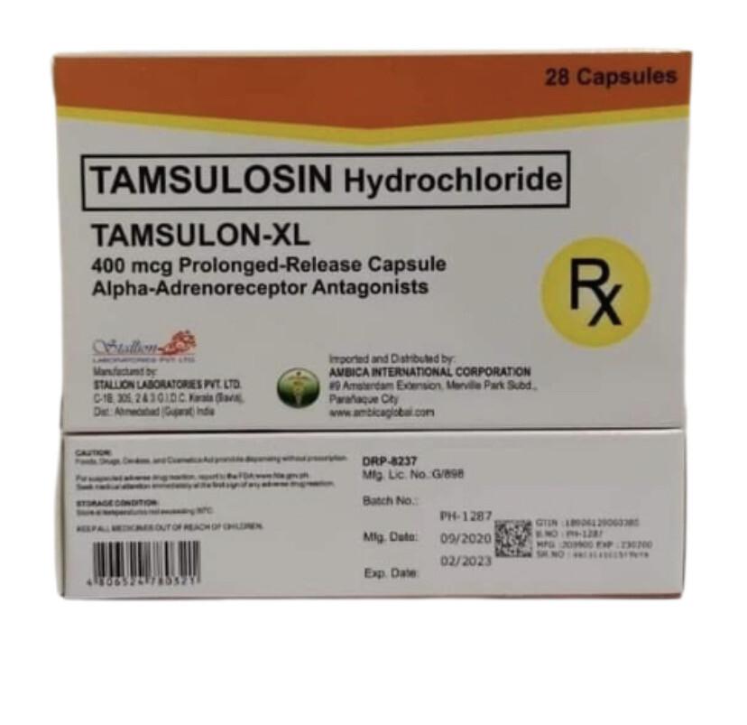 Tamsulosin 400mcg Tablet x 1's