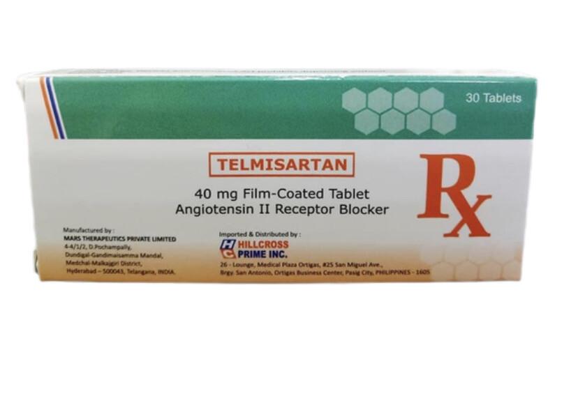 Telmisartan 40mg Tablet x 1's