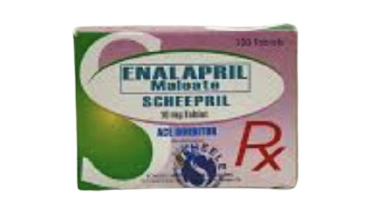Enalapril 10mg Tablet x 1's