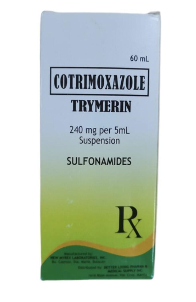 Cotrimoxazole 200mg/40mg/5ml Suspension 60ml x 1's