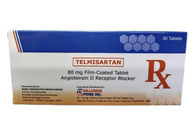 Telmisartan 80mg Tablet x 1's
