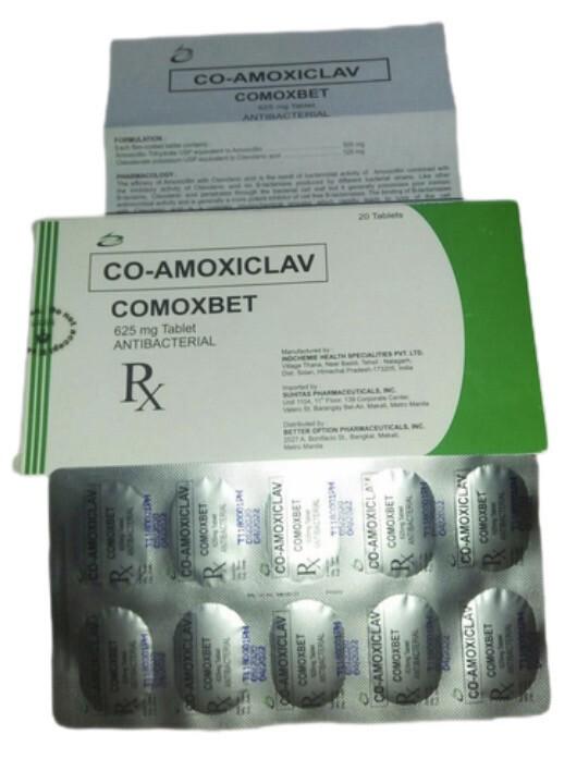Co-Amoxiclav 625mg Tablet x 1's