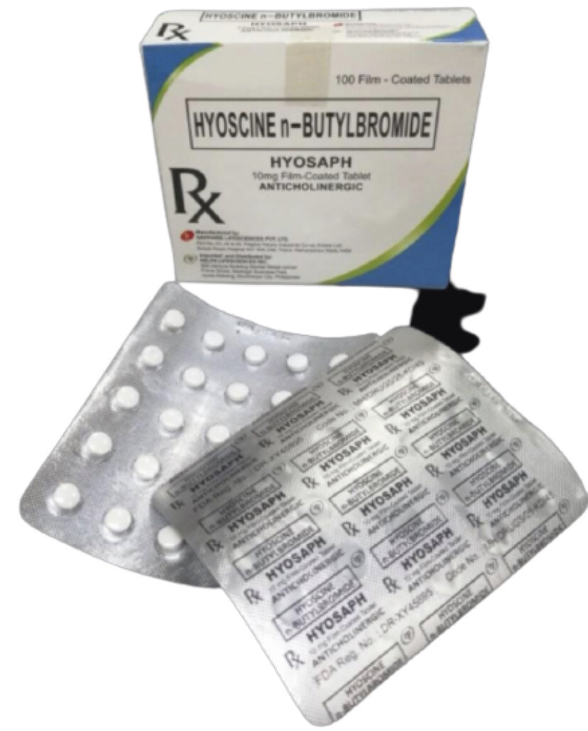 Hyoscine N-Butylbromide 10mg Tablet x 1's