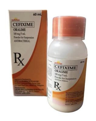Cefixime 20mg/ml Drops  10ml bottle x 1's