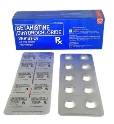 Betahistine 24mg Tablet x 1's