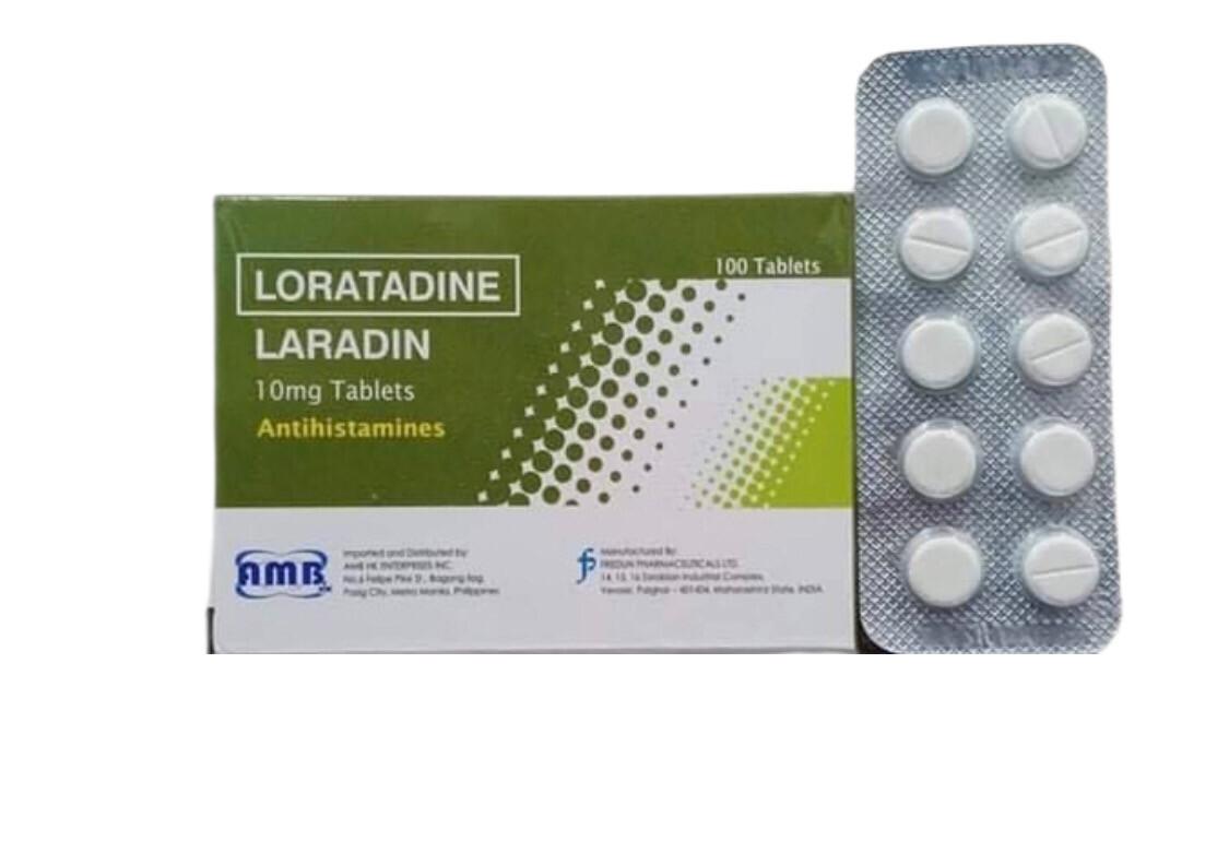 Loratadine 10mg Tablet  x 1's