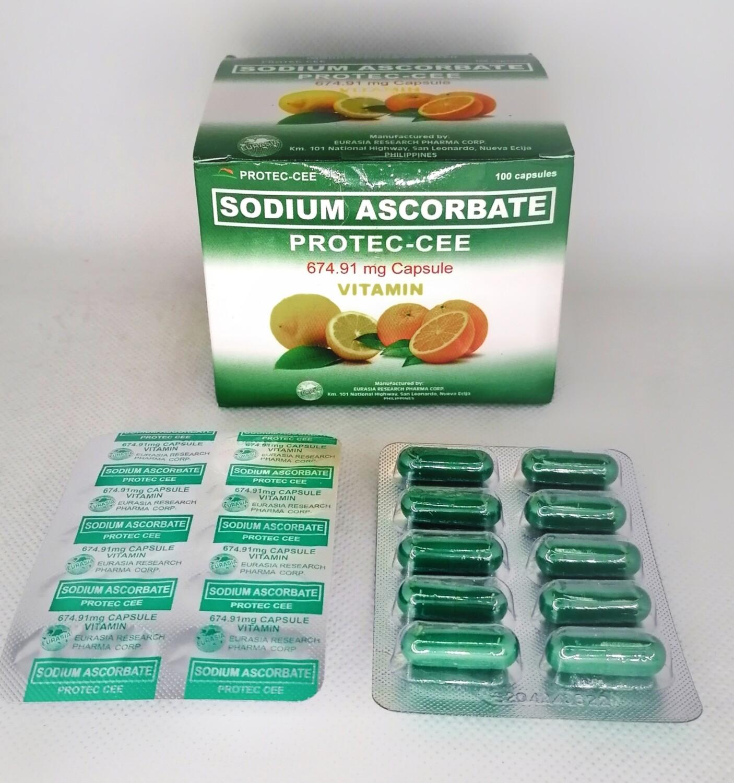 Sodium Ascorbate 674.91mg Capsule x 1's