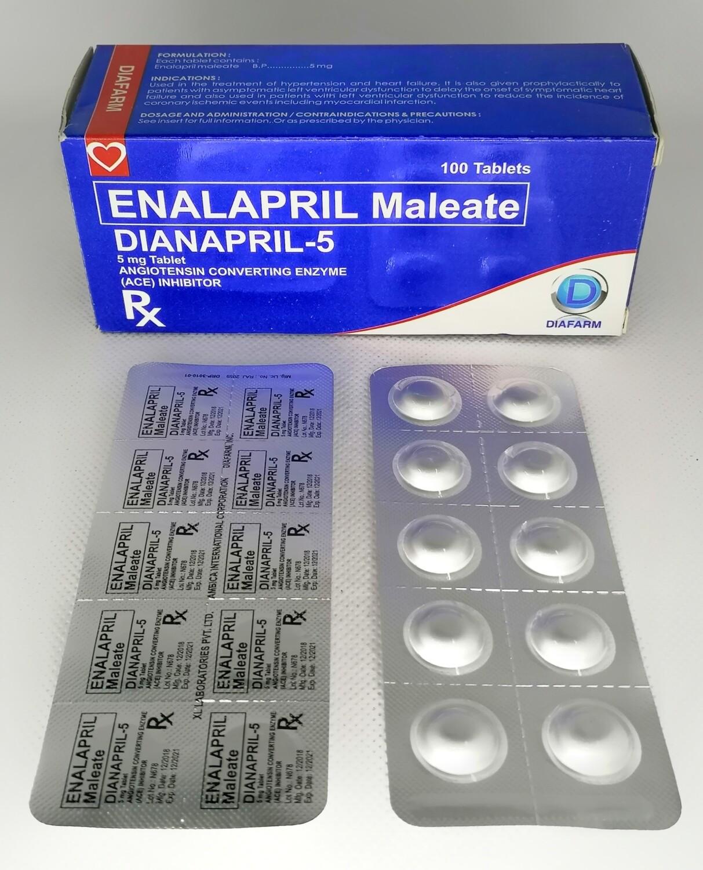 Enalapril 5mg Tablet x 1's
