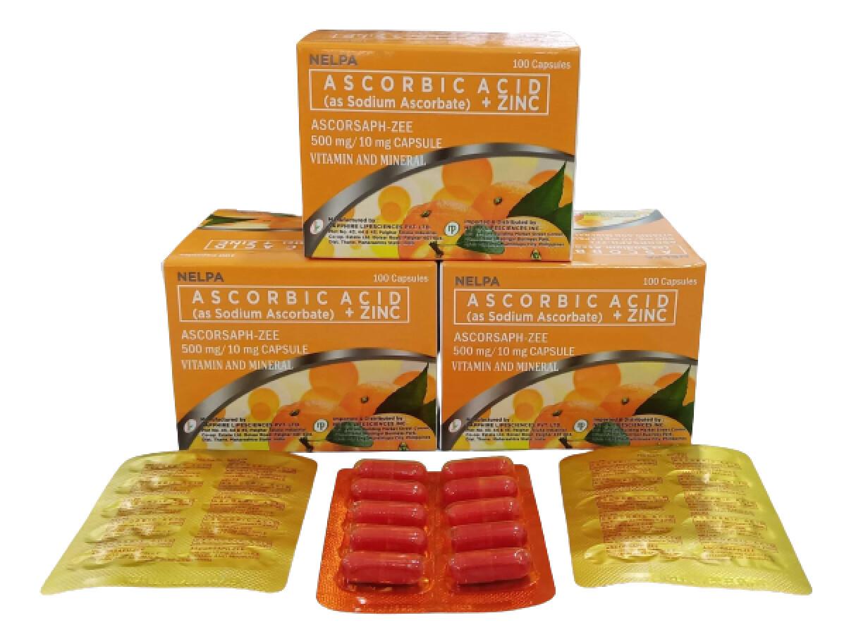 ImmunPro (Sodium Ascorbate Vitamin C+Zinc) Capsule x 1's