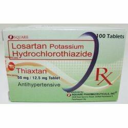 Losartan+Hydrochlorothiazide 50mg/12.5mg Tablet x 1's